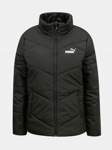 Černá dámská prošívaná zimní bunda Puma - XS