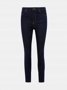 Tmavě modré skinny fit džíny VERO MODA Loa - XS