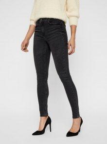 Šedé super slim fit džíny VERO MODA Lux - S