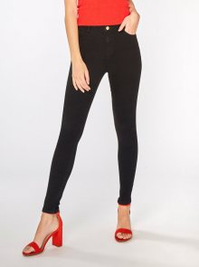 Černé skinny džíny Dorothy Perkins Shape & Lift - XS