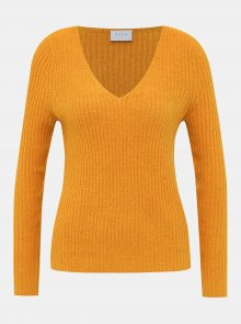 Oranžový svetr VILA Katay - XS