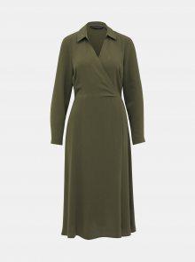 Khaki šaty Dorothy Perkins - XS