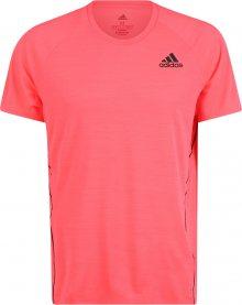 ADIDAS PERFORMANCE Funkční tričko černá / růžová
