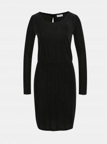 Černé manšestrové šaty VILA Biana - XS