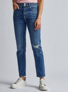 Modré slim fit džíny Dorothy Perkins - XS