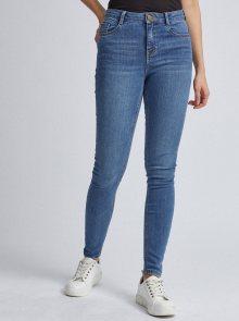 Světle modré skinny fit džíny Dorothy Perkins Shape & Lift - XS
