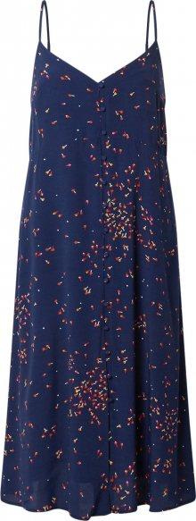 GAP Letní šaty námořnická modř / tmavě růžová / oranžová