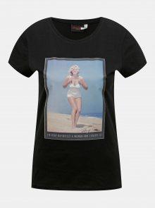 Černé tričko ONLY Marilyn Monroe