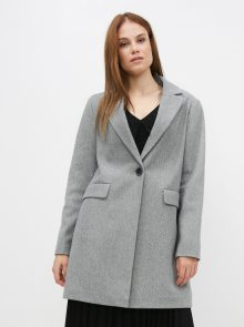 Šedý kabát Dorothy Perkins - L