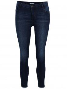 Tmavě modré zkrácené skinny džíny Jacqueline de Yong Ulle