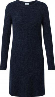 VILA Úpletové šaty \'Suril\' námořnická modř