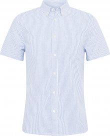 BURTON MENSWEAR LONDON Košile světlemodrá / bílá