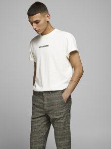 Bílé tričko Jack & Jones Prbladean