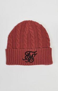 Čepice Sik Silk červená Standardní