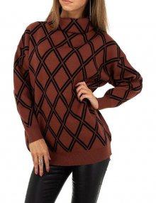 Dámský vzorovaný svetr
