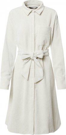 Gina Tricot Košilové šaty \'Janelle\' bílý melír