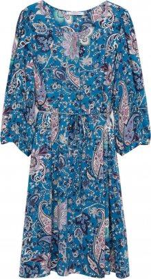 VIOLETA by Mango Šaty nebeská modř / mix barev