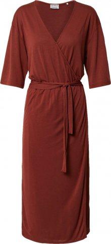 CATWALK JUNKIE Šaty \'Dr Marley\' rezavě červená