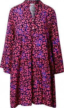 Zwillingsherz Šaty \'Irina\' marine modrá / pink