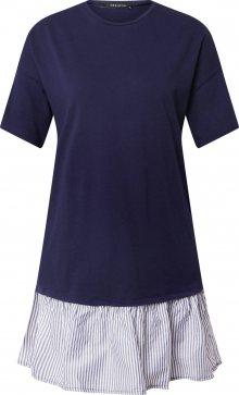 Trendyol Šaty modrá / bílá