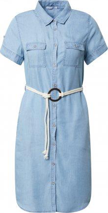 Hailys Košilové šaty \'Penny\' modrá džínovina