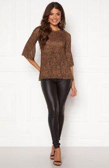 Tričko se vzorem Lina / leopardí