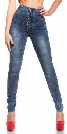 Koucla Skinny jeans s vysokým pasem