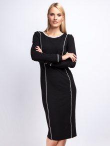 Naoko Dámské šaty AT78_BLACK_GREY
