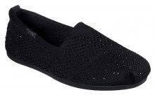 Skechers černé espadrilky Bobs Plush
