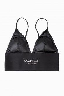 Calvin Klein černý horní díl plavek Longline Triangle RP