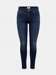 Tmavě modré skinny fit džíny ONLY Kendell - XS