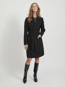 Černý lehký kabát VILA Apple - XS