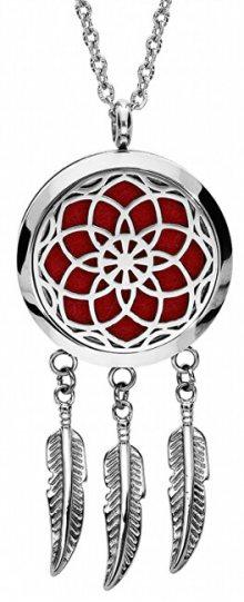 Troli Multifunkční ocelový náhrdelník Lapač snů s vyměnitelným středem 132471
