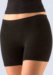 Dámské bezešvé kalhotky Gina 03009 černá L/XL Černá