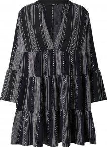ONLY Šaty \'Athena\' černá / šedá