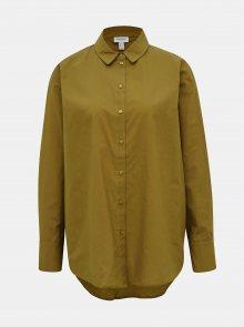 Khaki volná košile AWARE by VERO MODA India