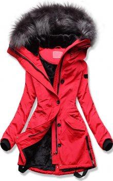 MODOVO Dámska zimní bunda červená