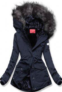 MODOVO Zimní bunda tmavěmodrá