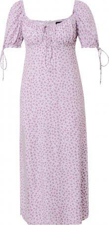 Motel Letní šaty \'Cello\' fialová / bílá