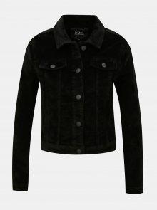 Černá manšestrová bunda ONLY Touch - XS