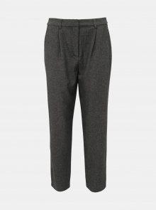 Tmavě šedé kalhoty ONLY Leden-Iria - S