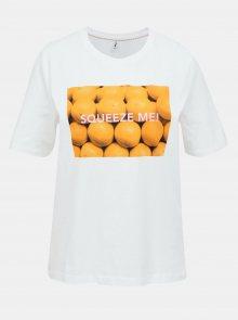Bílé tričko ONLY Ava - XS