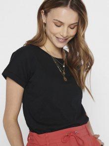 Černé tričko Jacqueline de Yong Pastel - XS