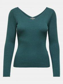 Zelené tričko Jacqueline de Yong Nannna - XS