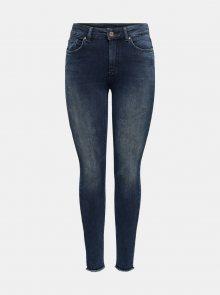 Tmavě modré skinny fit džíny ONLY - XS