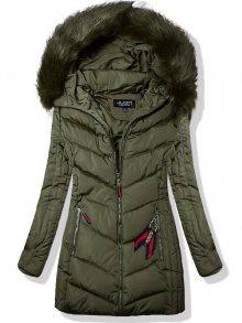 Khaki zimní bunda 819-66