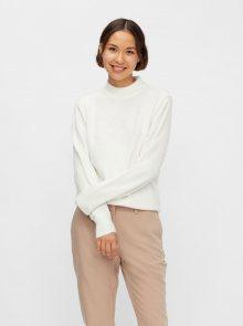 Bílý basic svetr Pieces Bianca - XS