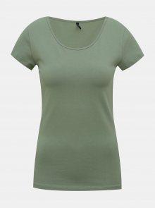 Zelené tričko ONLY Live - XS