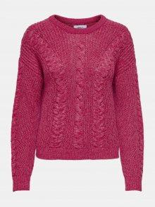 Tmavě růžový svetr ONLY Rosie - XS