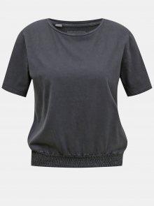 Tmavě šedé tričko Noisy May Seven - XS